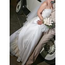 Precioso Vestido De Novia Color Ivory