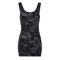 Denimlab Vestido Negro Entallado Talla S Nuevo Con Etiquetas