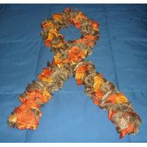Lindas Chalinas / Bufandas Tejidas A Crochet, Colores!!!!
