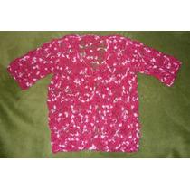 Chompas P/dama Tejidas A Crochet M/corta A Solo S/. 30!!!!