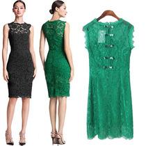 Vestido Para Coctel Stock Verde Esmeralda Large, Xl, Xxl
