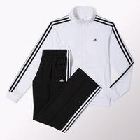 Adidas Buzo Talla M, Color Blanco Con Negro