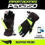 Guantes Moto Scoyco Impermeable Tactil S/97 Pegaso