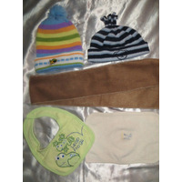 Gorros Para Bebes Y Niños Tambien Chalina Babita Babero :)
