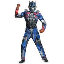 Disfraz Fiesta Niños De Optimus Prime Transformers 4 - Stock