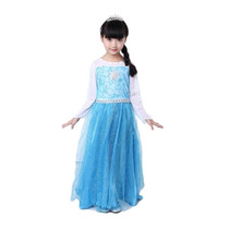 Vestido Disfraz Frozen - Elsa- Importado-tienda Jesus Maria