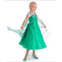 Vestido Elsa Frozen Fever Disney Store