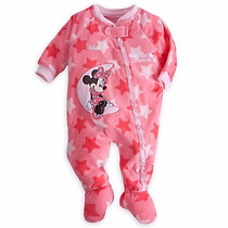Pijama Enterizo Minnie-talla 12-18mes/18-24mes-disney Usa