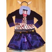 Disfraz Disfraces La Loba Wolf Monster High Halloween Niñas