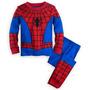 Spiderman / Hombre Araña Pijama Talla 8 De Disney Store