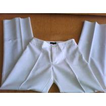 Pantalon Blanco Basement, Vestido Mossimo Negro Lentejuelas