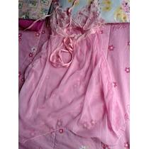 Stock Lindas Pijamas X 2 Piezas Baby Doll Sexy+truza