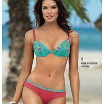 Bikini Leonisa Traje De Baño Dos Piezas Talla. 34 - Nuevo