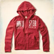 Casaca Polera Hollister, Talla S,100% Original