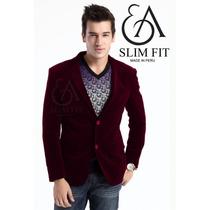 Ea Slim Fit - Blazer Babycord Saco Sport Elegante