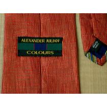 Corbata Alexander Julian Colours Seda Made In Usa Corbatas