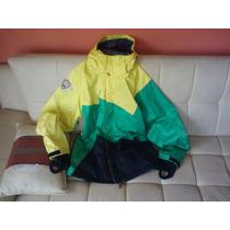 Casacon Quiksilver Jamaica Talla Mediun Unica Casaca Polera