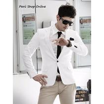 Blazer Entallado Slim Fit, Moda Coreana, Calidad