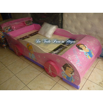 Cama 1.5 Modelo Princesa Disney