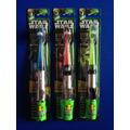 Star Wars Yoda Anakin Darth Vader Cepillo De Dientes Luces
