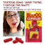 Halloween Sangre Polvo Sangrado Boca 6 Capsulas Por