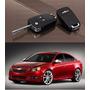 Carcasa Llave Cuchilla Flip Original Chevrolet De 3 Botones