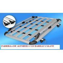 Parrilla Con Barras Transversales De Aluminio Con Llave