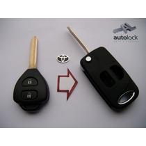 Carcasa De Control Remoto Para Toyota Yris Hiace Rav4 Prado