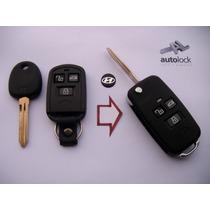 Carcasa Control Remoto Con Flip Para Hyundai Elantra Accent
