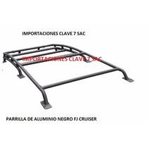 Parrilla De Aluminio Negro Toyota Fj Cruiser