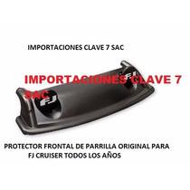 Protector Frontal Para Parrilla De Alumin Toyota Fj Cruiser