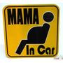 Stickers Mama In Car Dia De La Madre Mama Embarazada