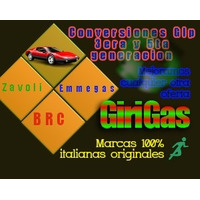 Conversión Glp Gnv 5ta.g. 100% Italianos Zavoli Emmegas Brc