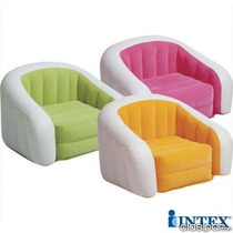 Sillon Inflable Puff Juvenil Marca Intex