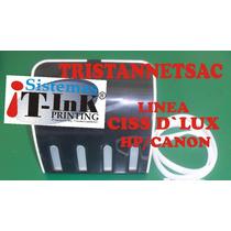 Kit Sistema Continuo Ciss Dlux Hp/canon Basico