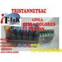 Ciss Sistema Continuo 6 Colores T50/r270/r290/r1400