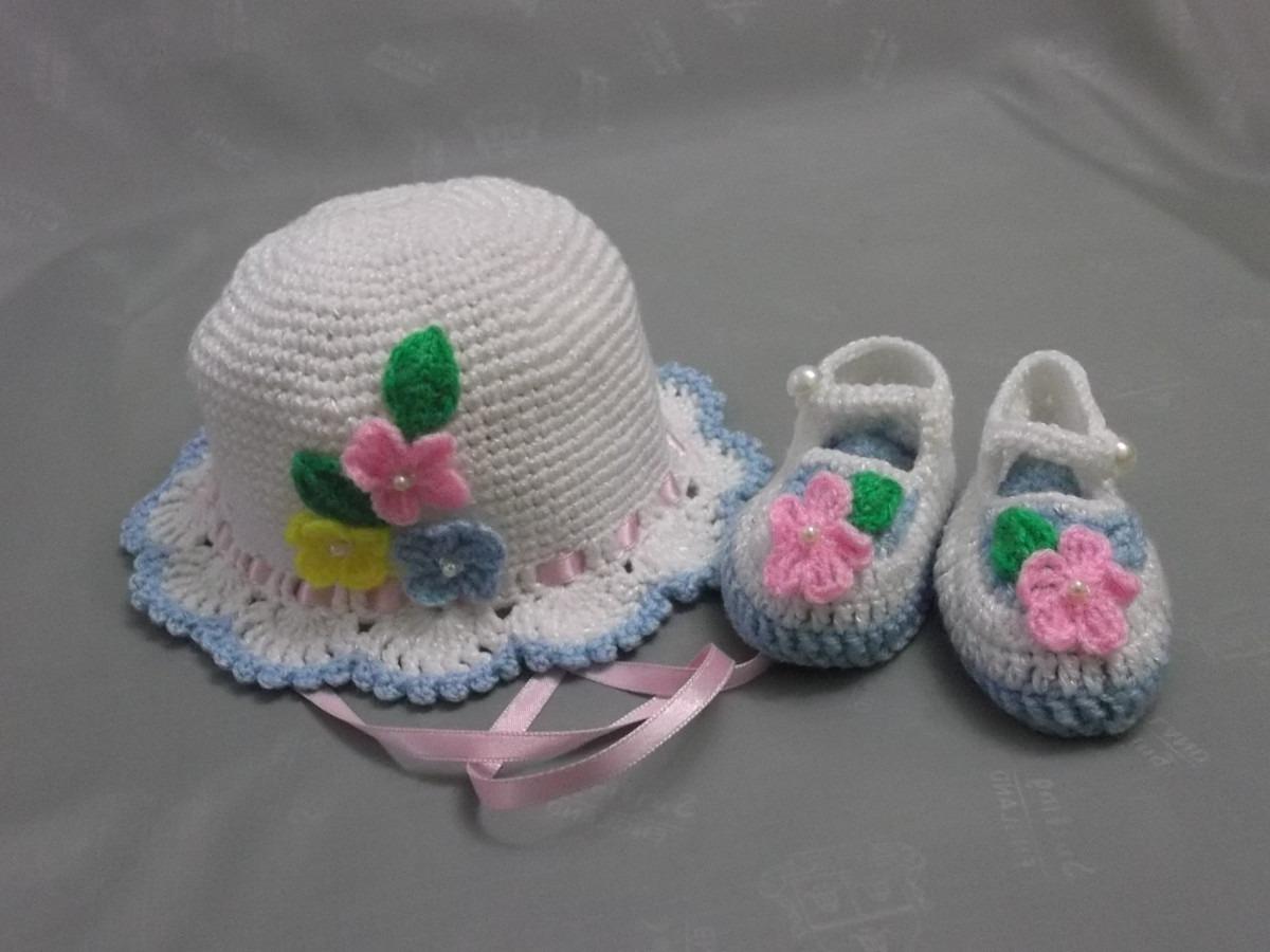 Sombreritos Para Bebe Tejido A Mano A Crochet - S/. 35,00 en ...