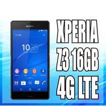 Sony Xperia Z3 D6603 4g 16gb 4k Libre,20mpx,nfc,full Hd Nuev