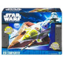 Star Wars Kit Fisto Starfighter Vehiculo Nave