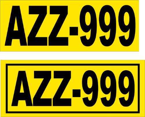Stickers Placas Laterales Para Camionetas Dia Amigo