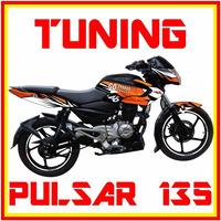 Tuning Motos Pulsar 135, Monster, Rockstar,fox Sticker, Duke