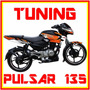 Tuning Motos Pulsar 135, Monster, Rockstar,fox Sticker, Duke