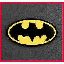 01 Sticker De Metal Para Carro Moto Laptop Batman 3d