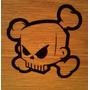 Stickers Skull Ken Block Unico
