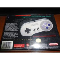 Mando Super Nintendo - Original - Sellado De Fabrica