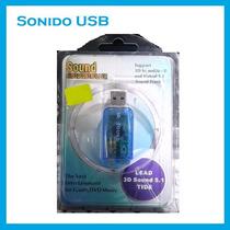 Controlador De Sonido 3d Usb 5.1