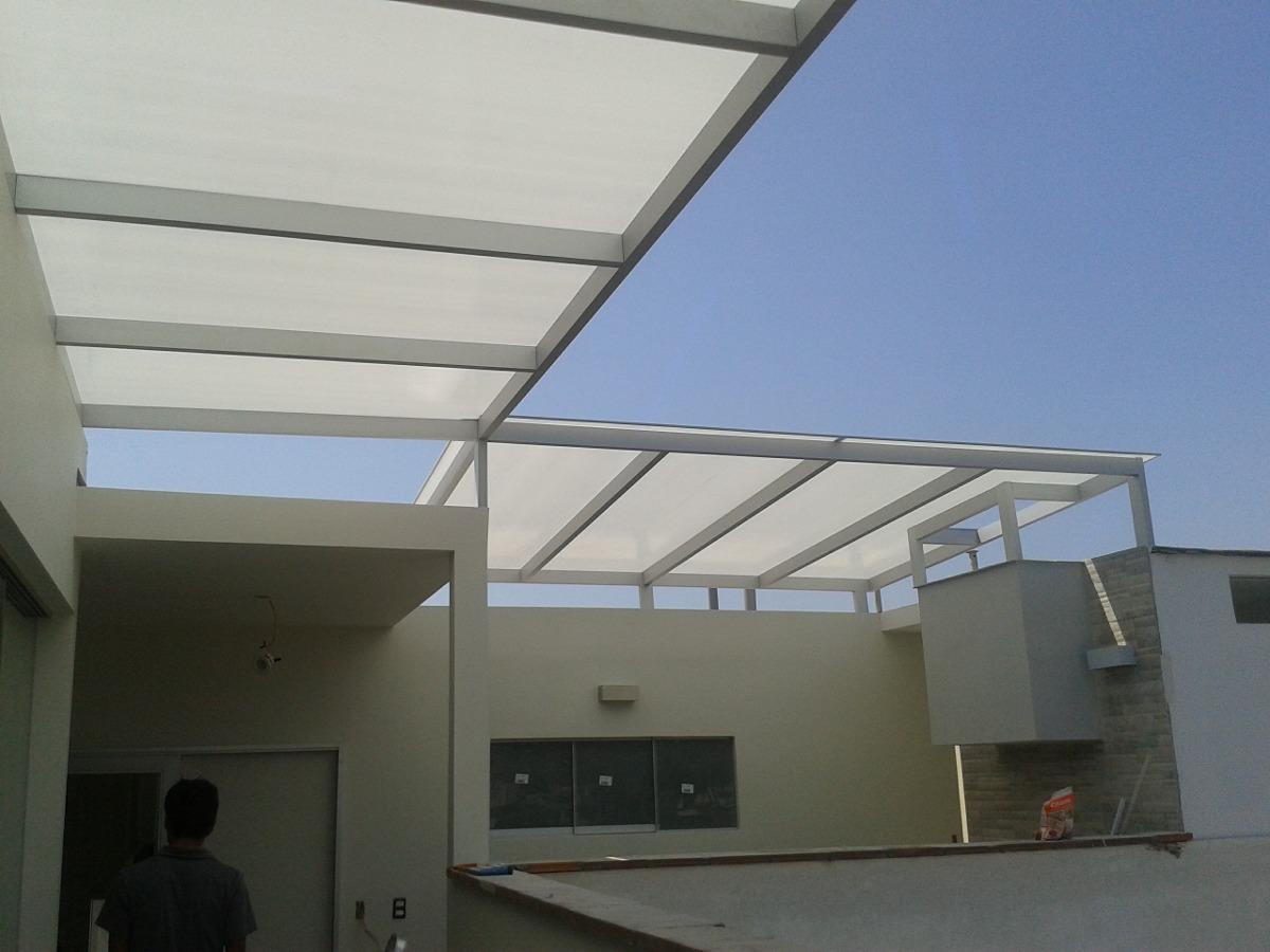 Policarbonato techos corredizos terrazas patios cocheras - Techos para terrazas ...