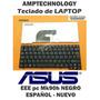 Teclado Laptop Acer Asus Eee Pc Mk90h Español Nuevo Negro