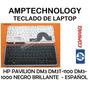 Teclado Laptop Hp Pavilion Dm3 Dm3-1100 Dm3-1000 Negro Opaco