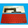 Teclado Laptop Hp Mini 1000 700 Rojo